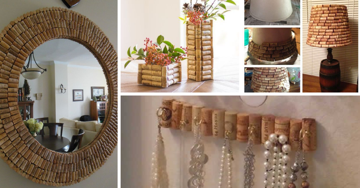 Decorating with Cork Stoppers