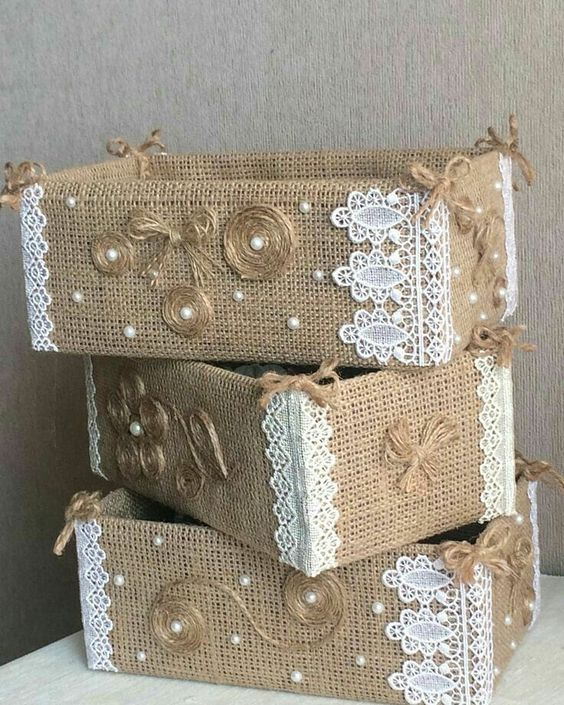 Jute Craft Ideas 4