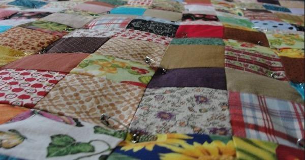 Patchwork Quilt 15