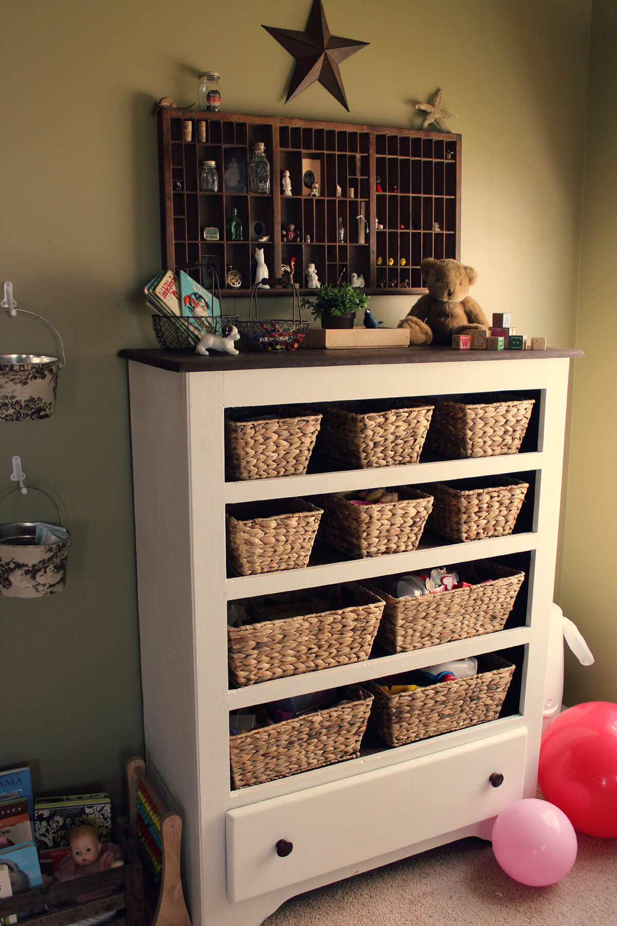 Repurpose Old Bookcase Shelving 10