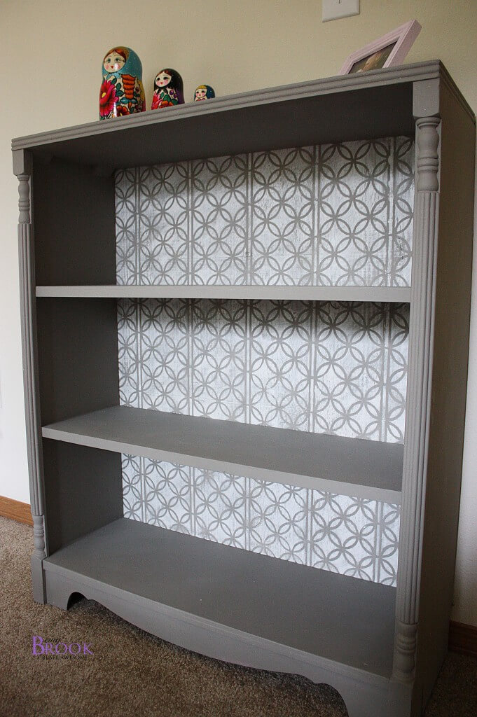 Repurpose Old Bookcase Shelving 13