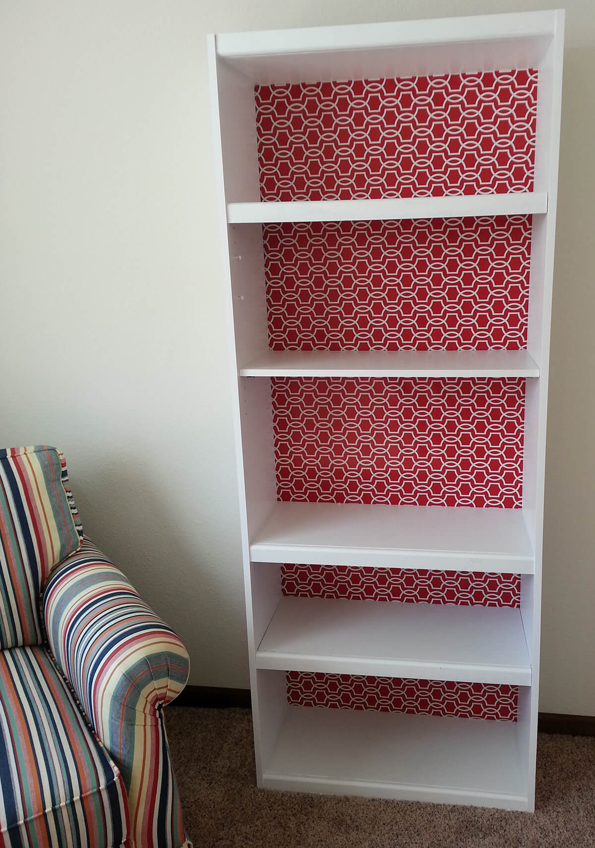 Repurpose Old Bookcase Shelving 15