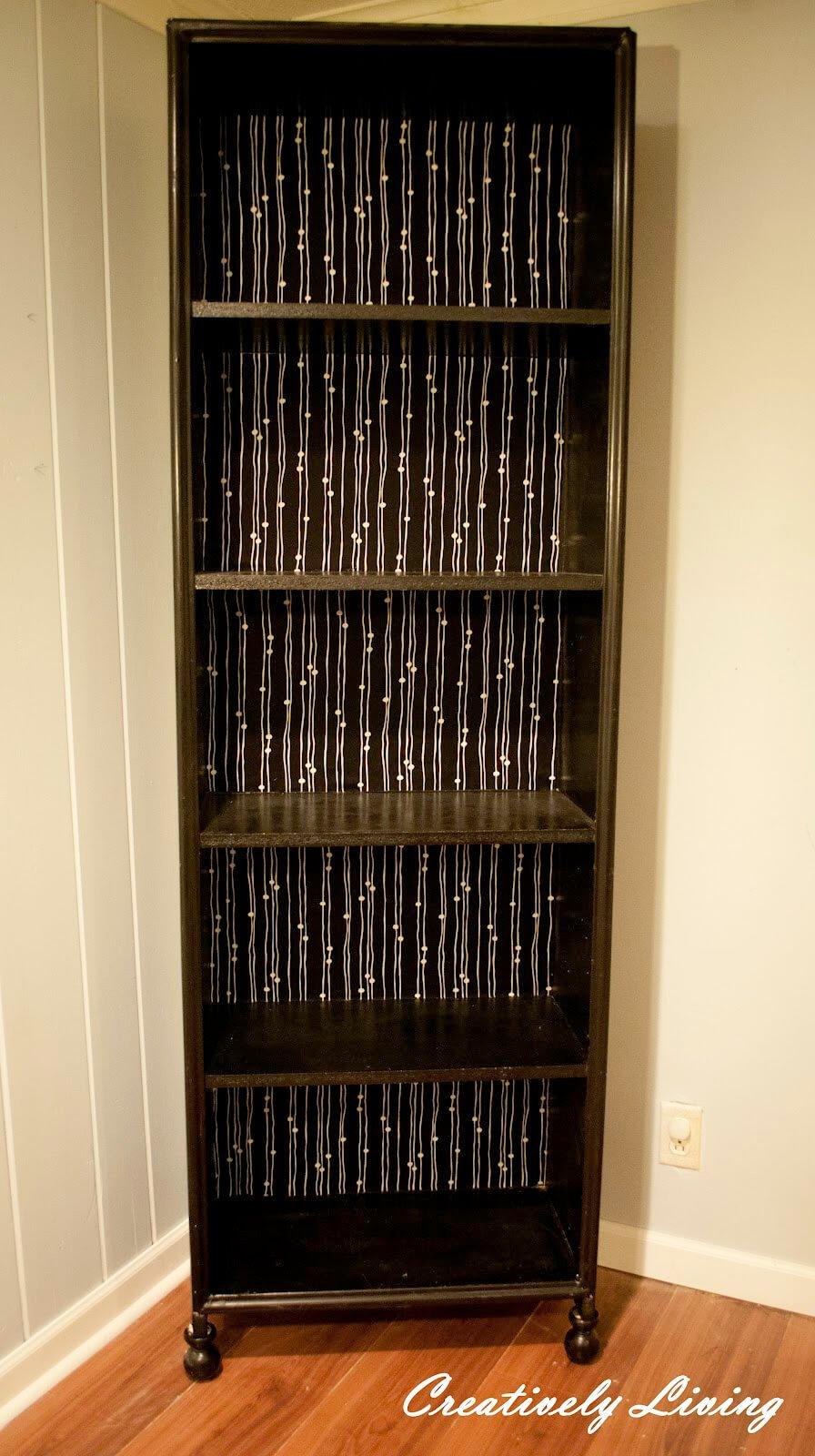 Repurpose Old Bookcase Shelving 16