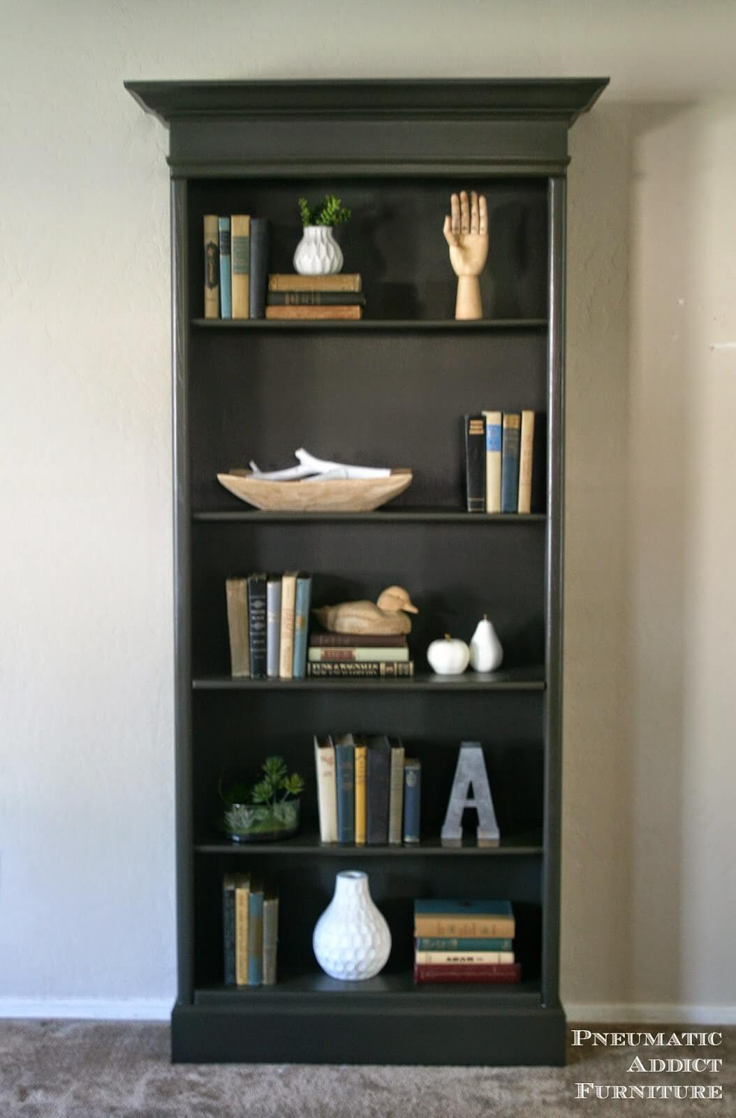 Repurpose Old Bookcase Shelving 2