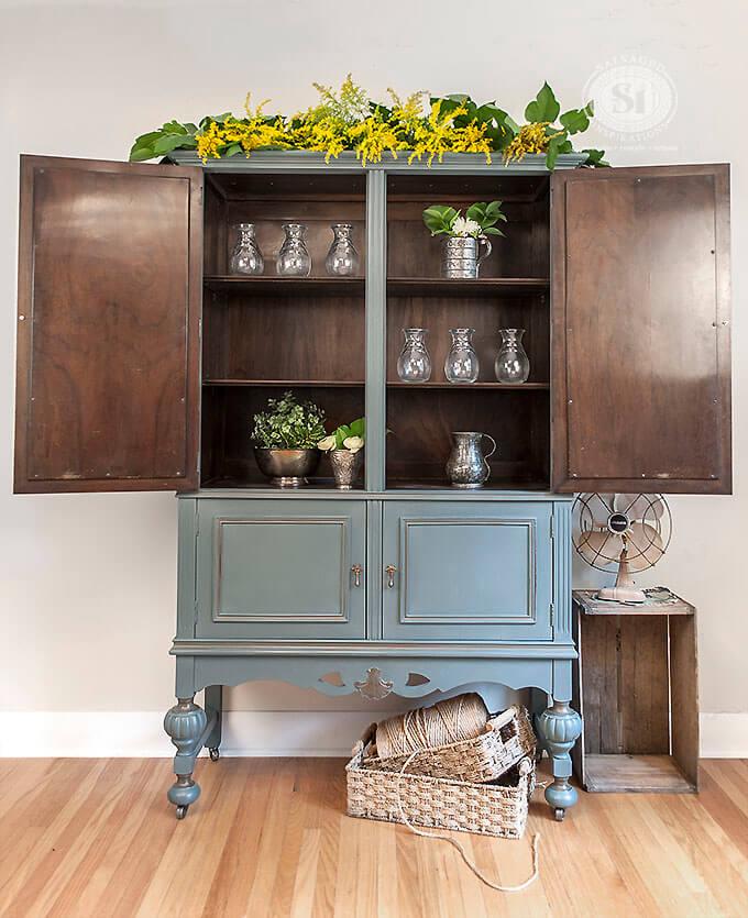 Repurpose Old Bookcase Shelving 9