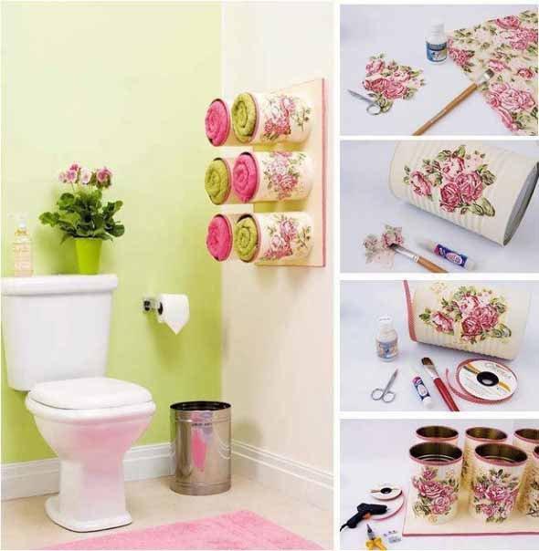 bathroom craft ideas 10