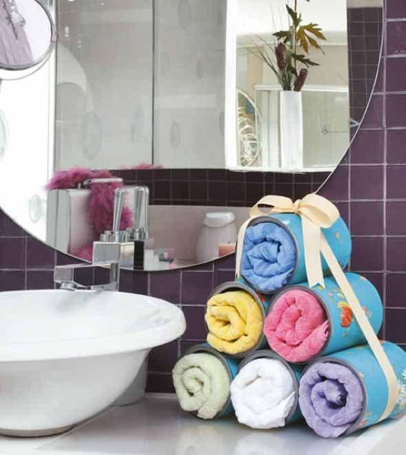 bathroom craft ideas