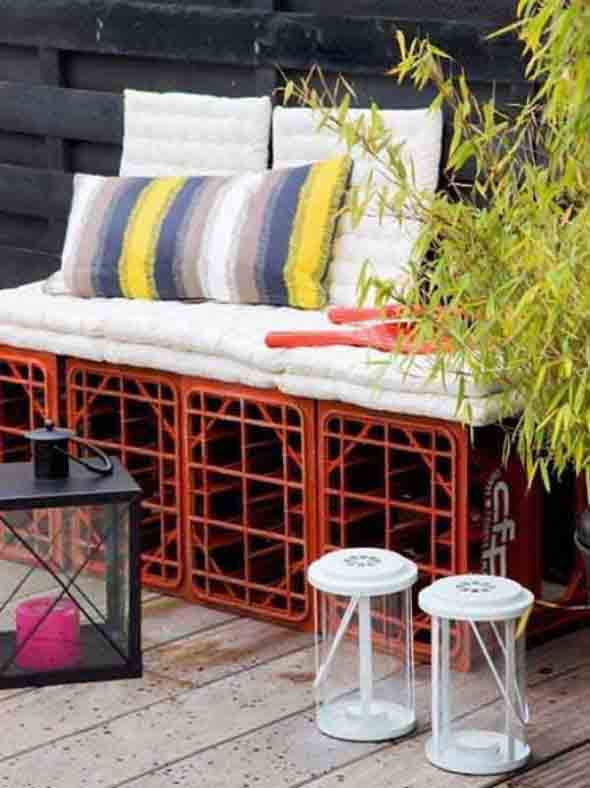 beautiful handcrafted outdoor bench designs 14