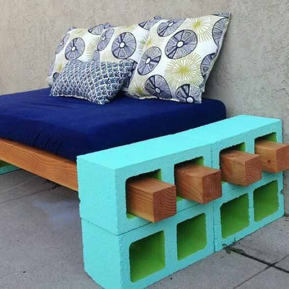beautiful handcrafted outdoor bench designs 2