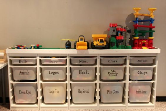 best toy organizer ideas 12