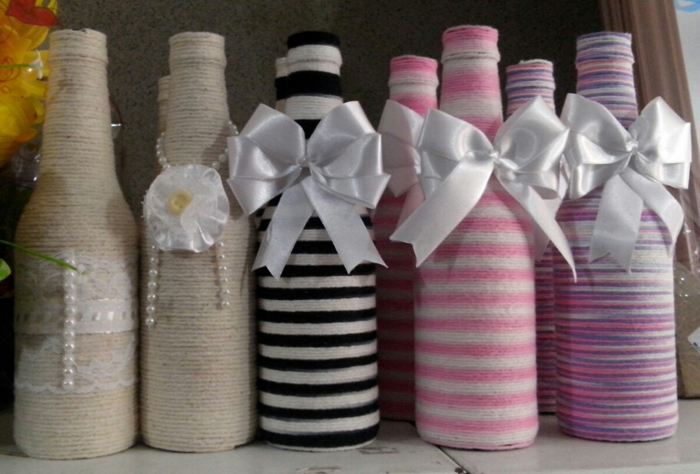 bottle ideas with yarn 12