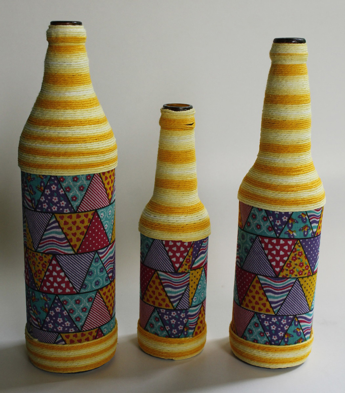 bottle ideas with yarn 3