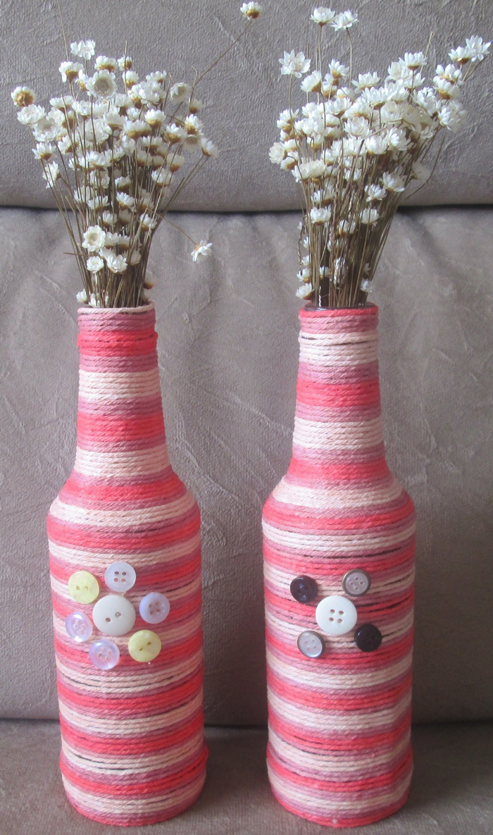 bottle ideas with yarn 7