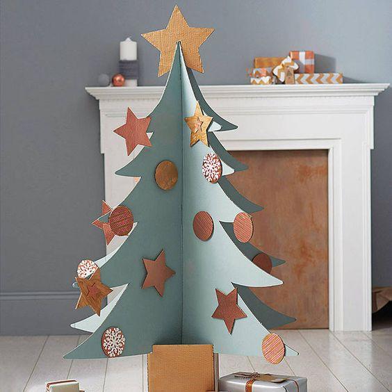 cardboard christmas tree 10