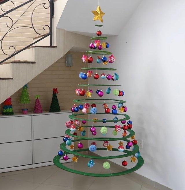 cardboard christmas tree 2