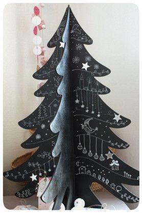 cardboard christmas tree 3