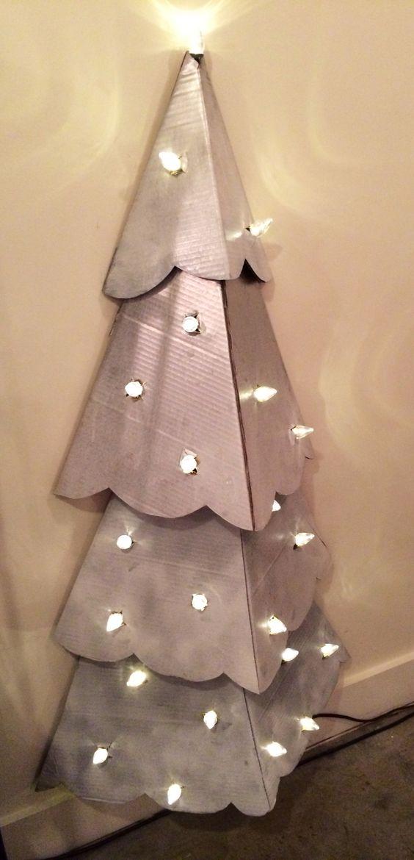 cardboard christmas tree 6