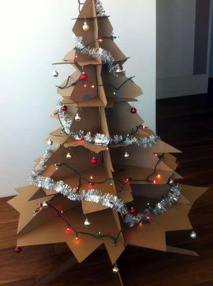 cardboard christmas tree 7