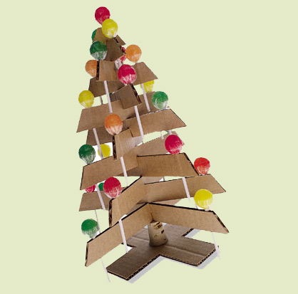 cardboard christmas tree 9