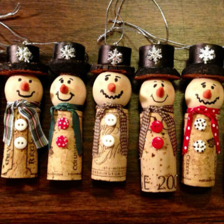 christmas crafts with corks 1