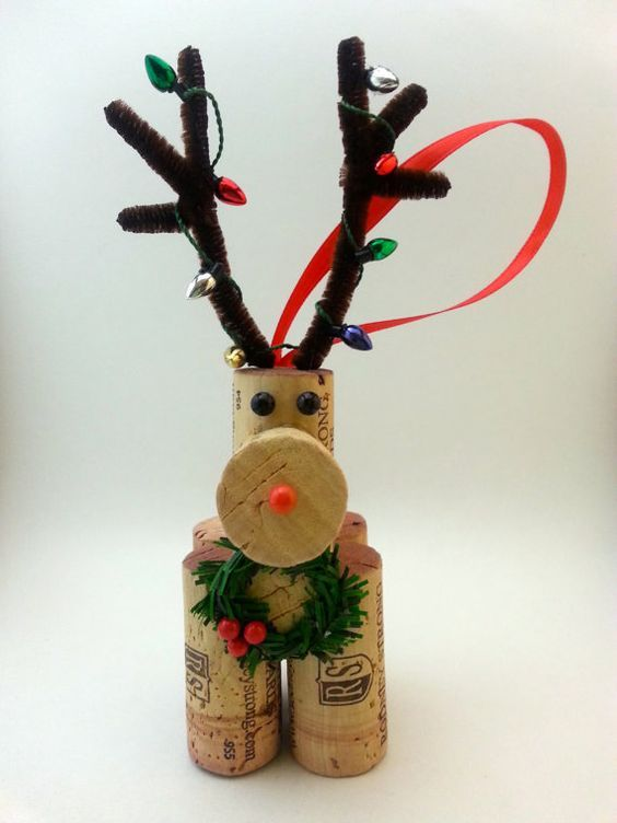 christmas crafts with corks 10