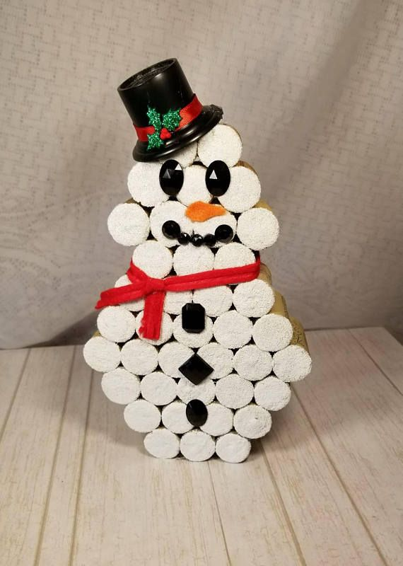 christmas crafts with corks 13