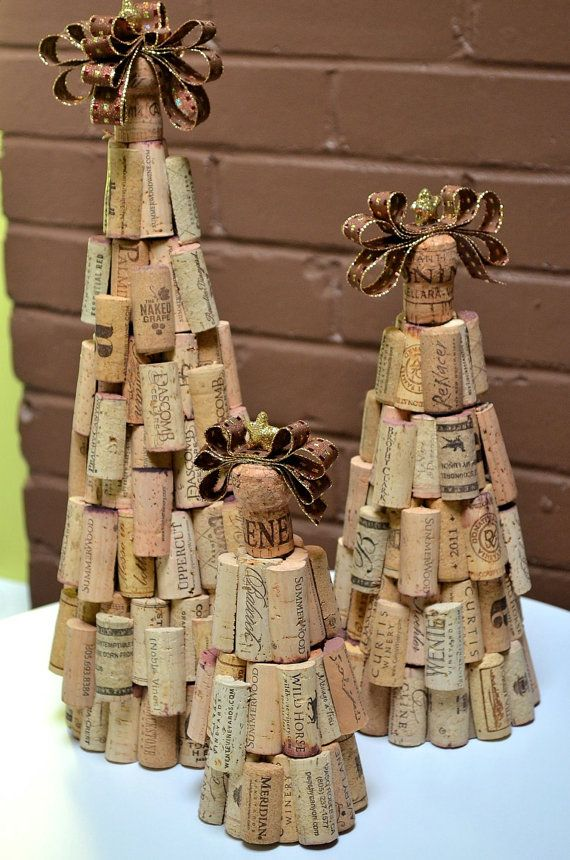 christmas crafts with corks 14