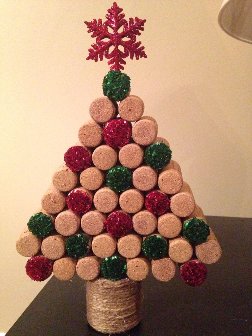 christmas crafts with corks 16