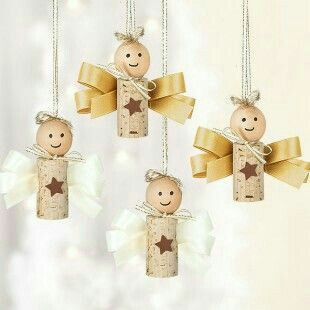 christmas crafts with corks 2