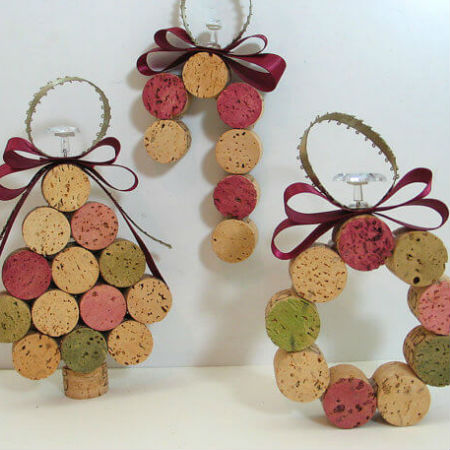 christmas crafts with corks 9