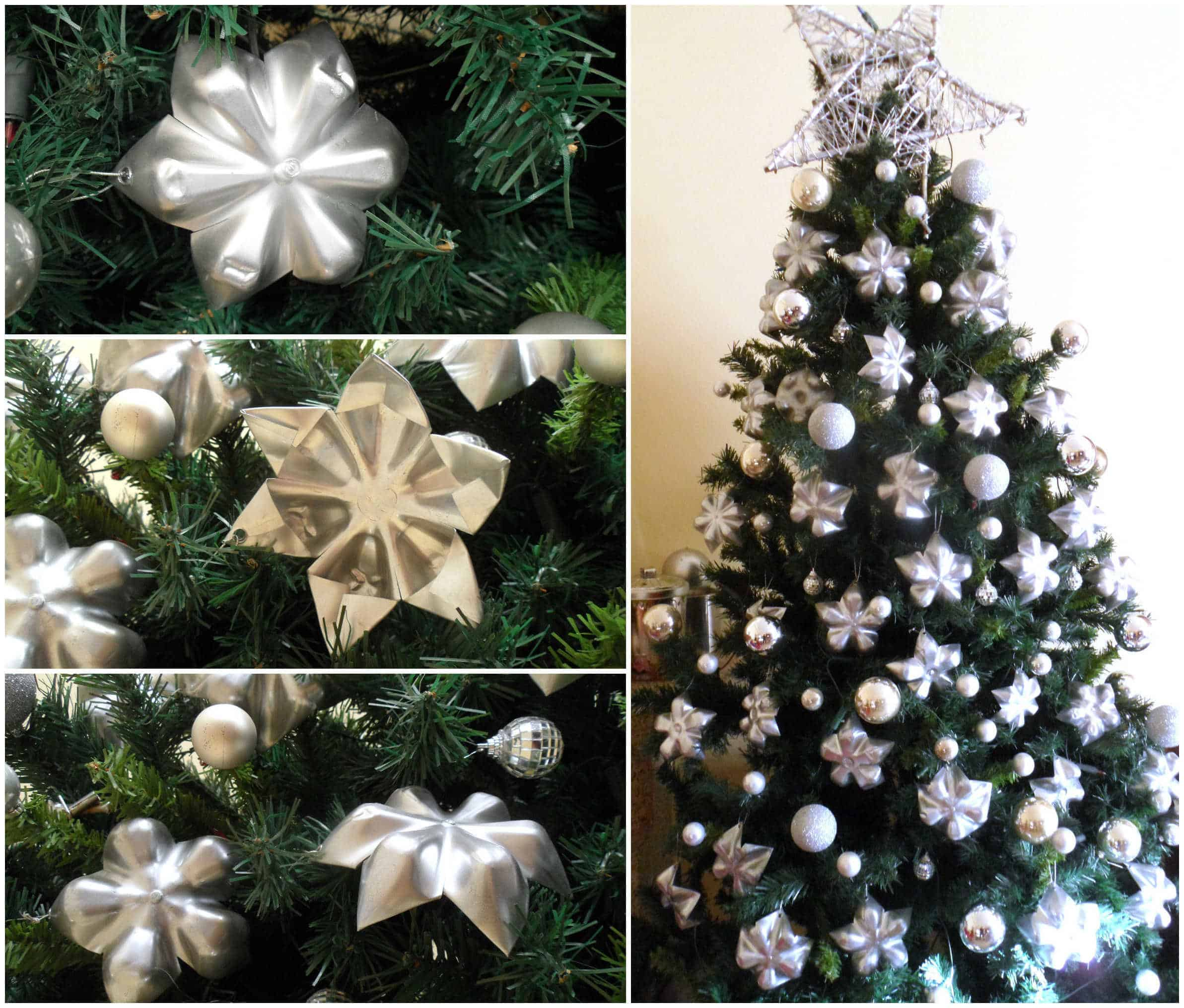 christmas decorations with plastic bottles 11