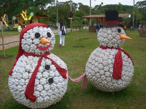 christmas decorations with plastic bottles 4