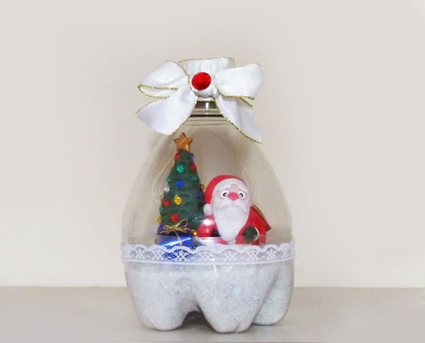 christmas decorations with plastic bottles 5