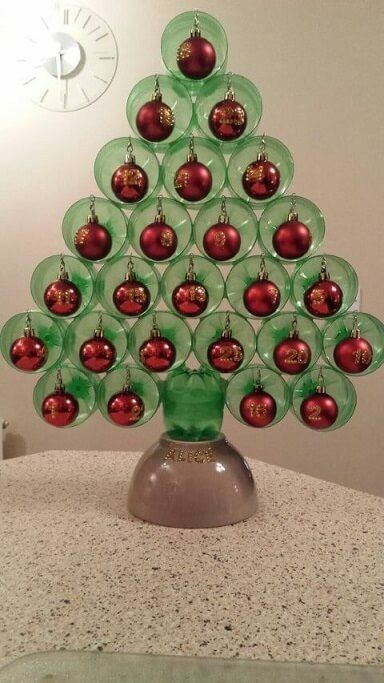 christmas decorations with plastic bottles 8