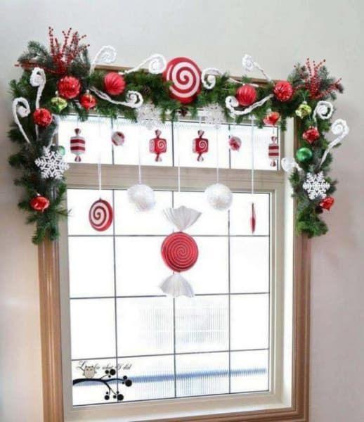 christmas window decoration 12