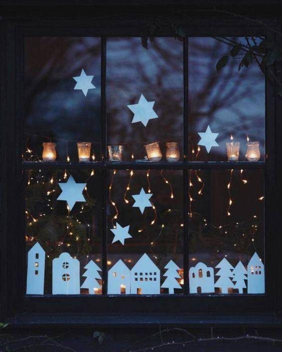christmas window decoration 4