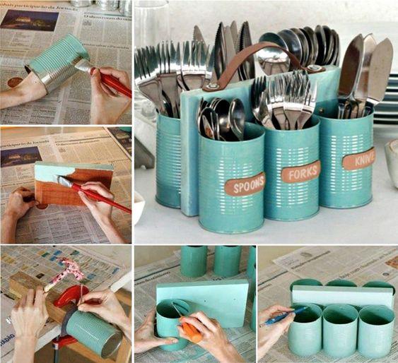 cutlery holder creative ideas 3