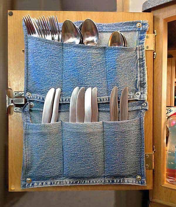 cutlery holder creative ideas 6