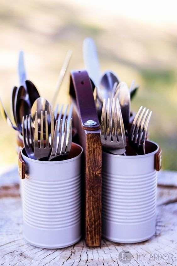 cutlery holder creative ideas 8