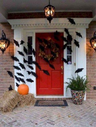 decorated halloween doors diy 5