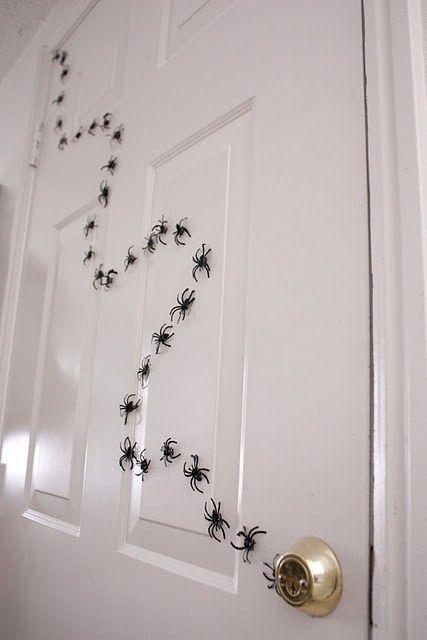 decorated halloween doors diy 8