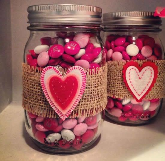 decorated pots for valentines day 1