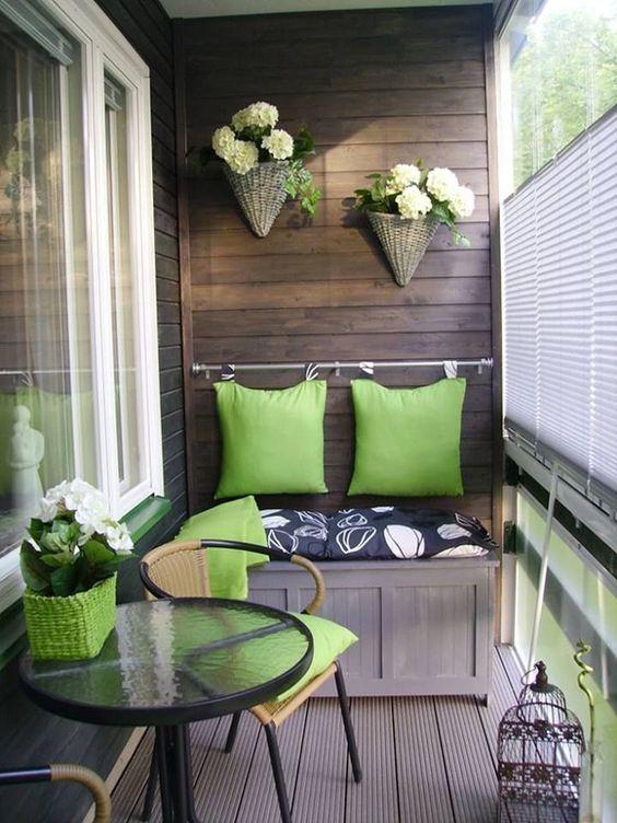 decorating small balconies 12