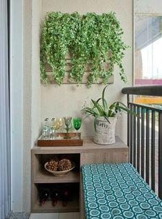 decorating small balconies