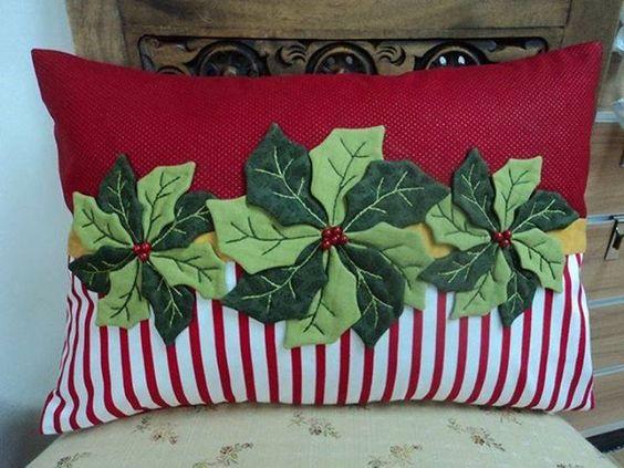 diy christmas pillow ideas 8