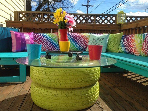 diy tables tires 1