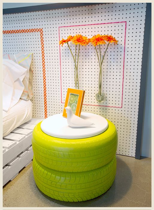 diy tables tires 12