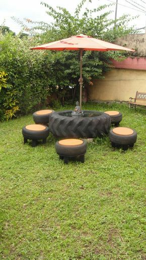 diy tables tires 4