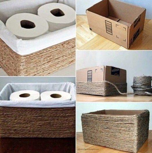 diyt toilet paper holders