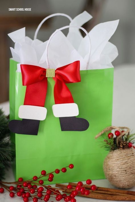 easy christmas gift wrapping ideas 16